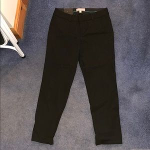 Black Sloan crop pant